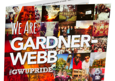 We Are Gardner-Webb Book